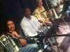 Ben-jamin, Reggie Young, Nick Lane & Fred Jackson lay down horns for Earth, Wind and Fire record date